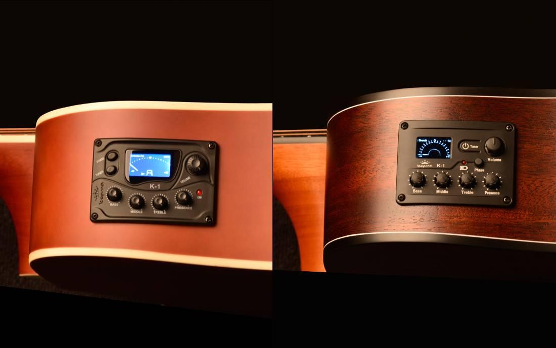 K1 新旧拾音器对比